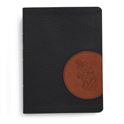 """Image for """"CSB Apologetics Study Bible for Students, Black and Tan LeatherTouch"""""""