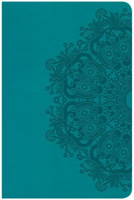 Image for CSB Compact Ultrathin Reference Bible, Teal LeatherTouch