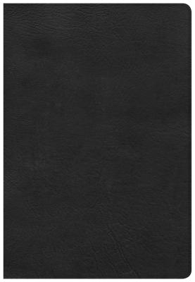 Image for CSB Super Giant Print Reference Bible, Black LeatherTouch, Indexed