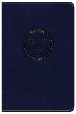 Image for CSB Military Bible, Navy Blue LeatherTouch