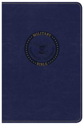 Image for CSB Military Bible, Royal Blue LeatherTouch