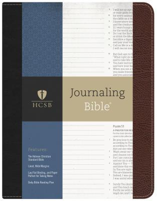 Image for HCSB Journaling Bible (Brown/Black)