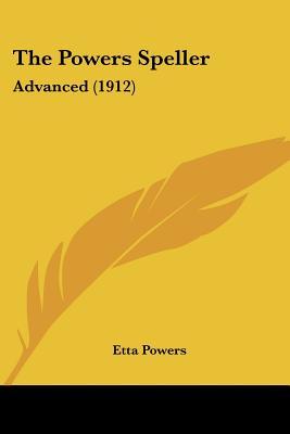 Image for The Powers Speller: Advanced