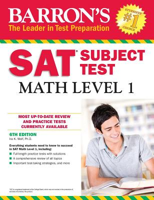 Image for Barron's SAT Subject Test: Math Level 1, 6th Edition