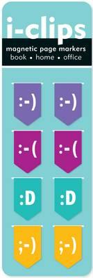 Image for Emoticons i-Clips Magnetic Bookmarks