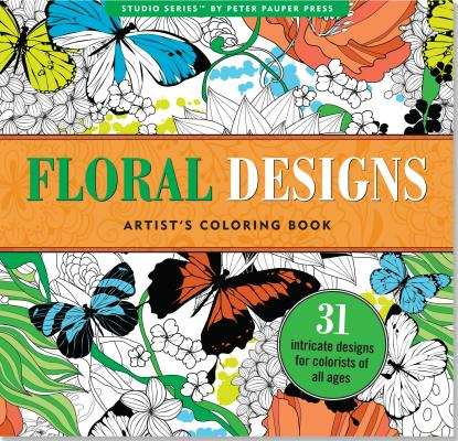 Image for Floral Designs Adult Coloring Book