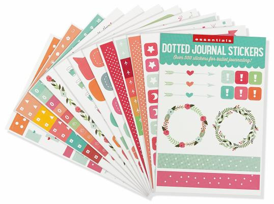 Image for ESSENTIALS DOTTED JOURNAL PLANNER STICKERS