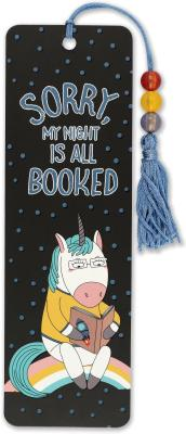Image for Sorry, My Night Is All Booked Beaded Bookmark