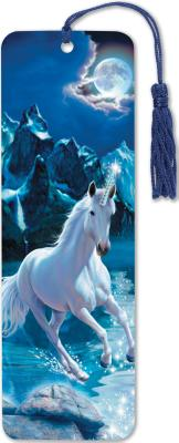 Image for Unicorn 3-D Bookmark (lenticular bookmark)