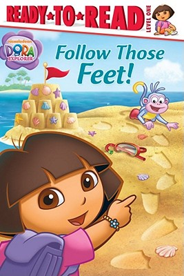 "Follow Those Feet! (Dora the Explorer Ready-to-Read Level 1), ""Ricci, Christine"""