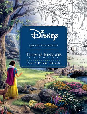 Image for Disney Dreams Collection Thomas Kinkade Studios Coloring Book