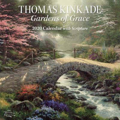 Image for Thomas Kinkade Gardens of Grace with Scripture 2020 Wall Calendar