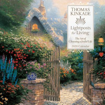 Image for Thomas Kinkade Lightposts for Living 2020 Wall Calendar