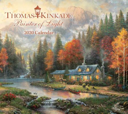 Image for Thomas Kinkade Painter of Light 2020 Deluxe Wall Calendar
