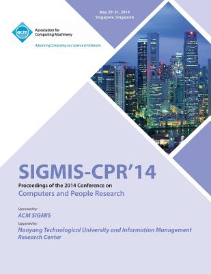 Sigmis CPR 14 2014 Computers and People Research Conference, Sigmis Pads 14 Conference Committee