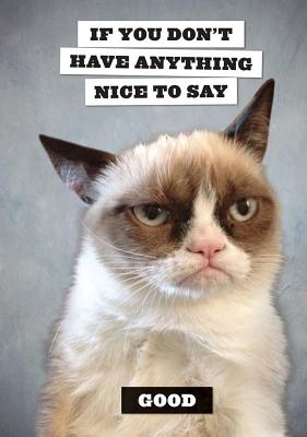 Image for Grumpy Cat Flexi Journal
