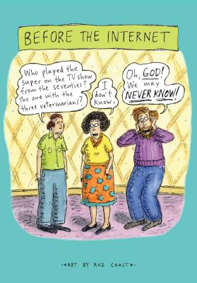 Image for Before The Internet Journal (Roz Chast Illustrated Notebook, Stationery Gift for New Yorker Fans)
