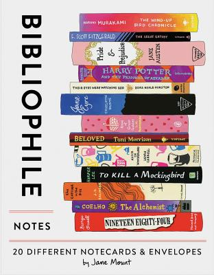 Image for Bibliophile Notes: 20 Different Notecards & Envelopes