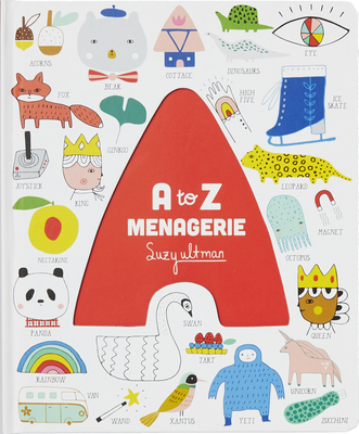 Image for A to Z Menagerie: (ABC Baby Book, Sensory Alphabet Board Book for Babies and Toddlers, Interactive Book for Babies)