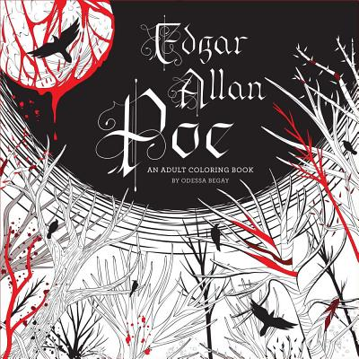 Image for Edgar Allan Poe: An Adult Coloring Book