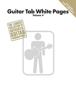 Image for Guitar Tab White Pages Volume 4