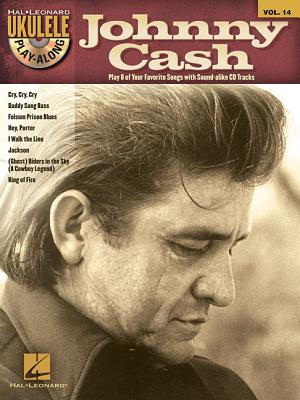 Image for Johnny Cash - Ukulele Play-Along Vol. 14 (Book/CD) (Hal Leonard Ukulele Play-Along)