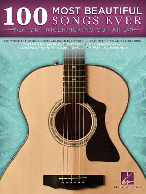 Image for 100 Most Beautiful Songs Ever For Fingerpicking Guitar