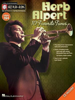 Image for Herb Alpert - Jazz Play-Along Volume 164 (Book/CD)