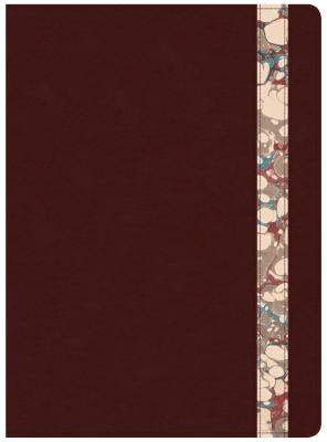 "Image for ""CSB Spurgeon Study Bible, BurgundyMarble Leathertouch(r)"""