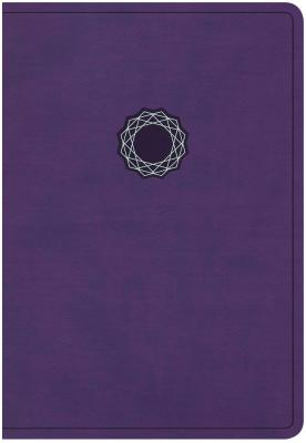 Image for NKJV Deluxe Gift Bible, Purple/Teal LeatherTouch