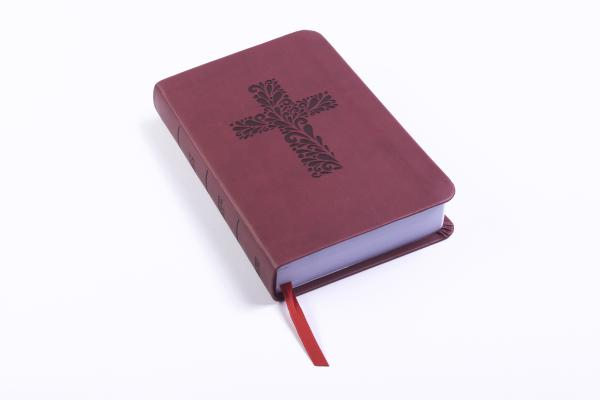 """Image for """"CSB Pocket Gift Bible, Burgundy LeatherTouch"""""""
