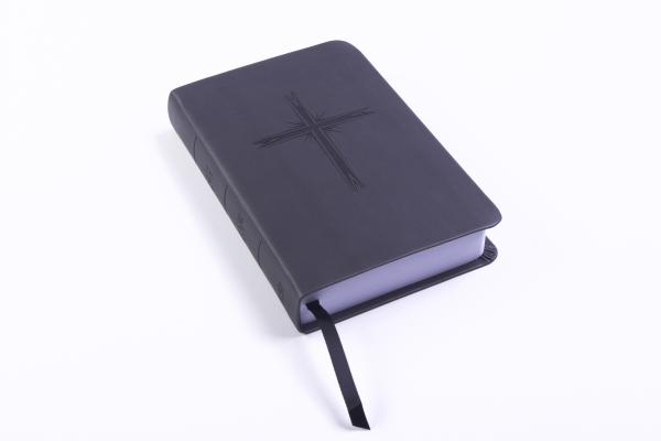 "Image for ""CSB Pocket Gift Bible, Charcoal LeatherTouch"""