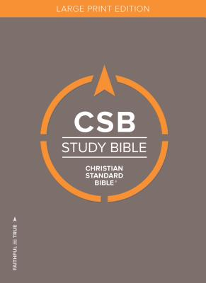 Image for CSB Study Bible, Large Print Edition, Hardcover