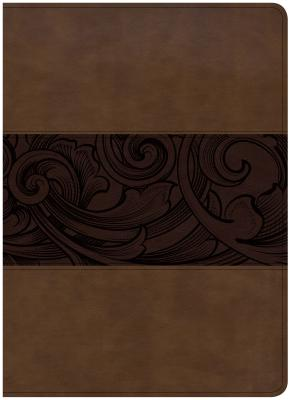 """Image for """"''CSB Study Bible, Large Print Edition, Mahogany LeatherTouch, Indexed''"""""""