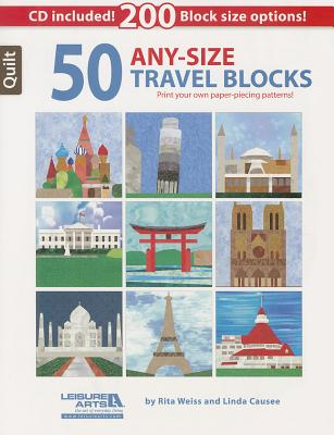 Image for 50 Any Size Travel Quilt Blocks + CD