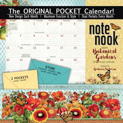 Image for 2019 Botanical Gardens pocket calendar.