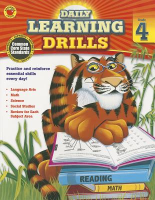 Image for Daily Learning Drills, Grade 4