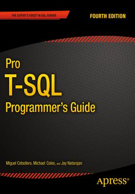 Image for PRO T-SQL PROGRAMMER'S GUIDE : FOURTH EDITION