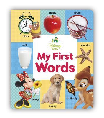 Disney Baby My First Words, Disney Book Group