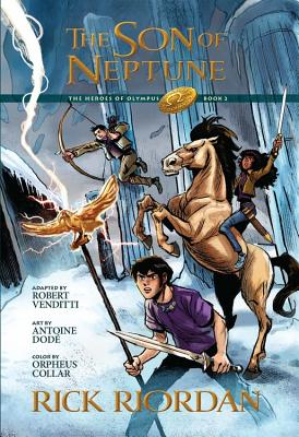 Image for The Heroes of Olympus, Book Two The Son of Neptune: The Graphic Novel (The Heroes of Olympus, Book Two) (The Heroes of Olympus (2))