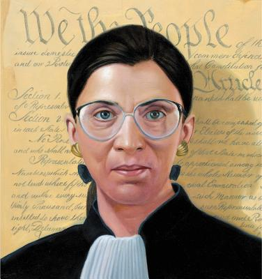 Image for Ruth Objects: The Life of Ruth Bader Ginsburg (A Big Words Book)