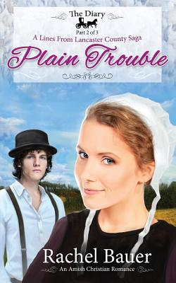 Plain Trouble: The Diary 2 - A Lines from Lancaster County Saga, Bauer, Rachel