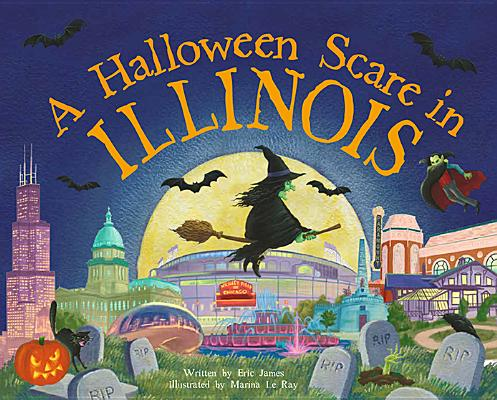 Image for A Halloween Scare in Illinois (Halloween Scare: Prepare If You Dare)