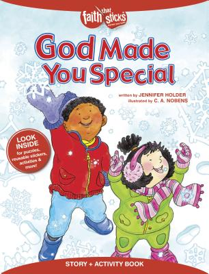 Image for God Made You Special Story + Activity Book (Faith That Sticks Books)