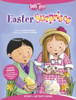 Image for Easter Surprises Story + Activity Book (Faith That Sticks Books)