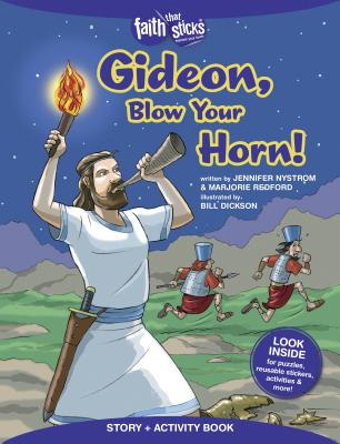 Image for Gideon, Blow Your Horn! Story + Activity Book (Faith That Sticks Books)