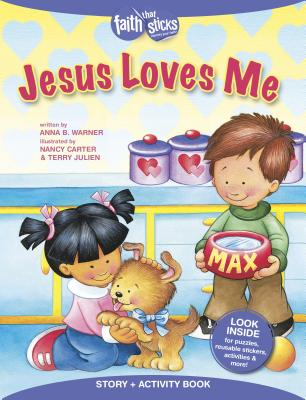 Image for Jesus Loves Me Story + Activity Book (Faith That Sticks Books)