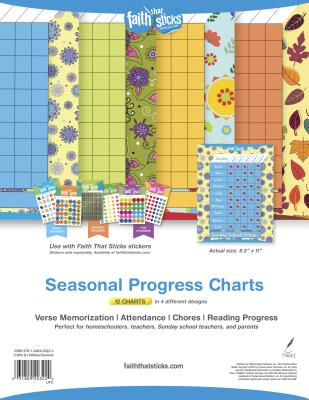 Image for Seasonal Progress Charts (Faith That Sticks Stickers)