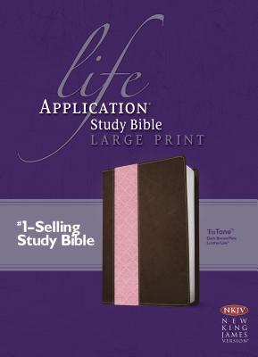 Image for Life Application Study Bible NKJV, Large Print, TuTone