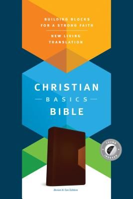 "Image for ""''NLT Christian Basics Bible, Brown/Tan Soft Imitation Leather with Thumb Index''"""